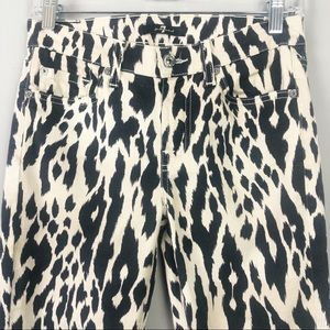 7 For All Mankind Jeans - 7 For All Mankind | Leopard Skinny Jeans